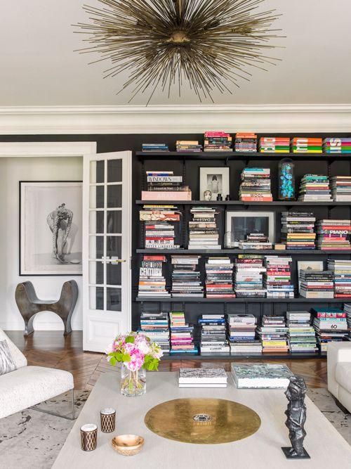 Brede boekenplanken