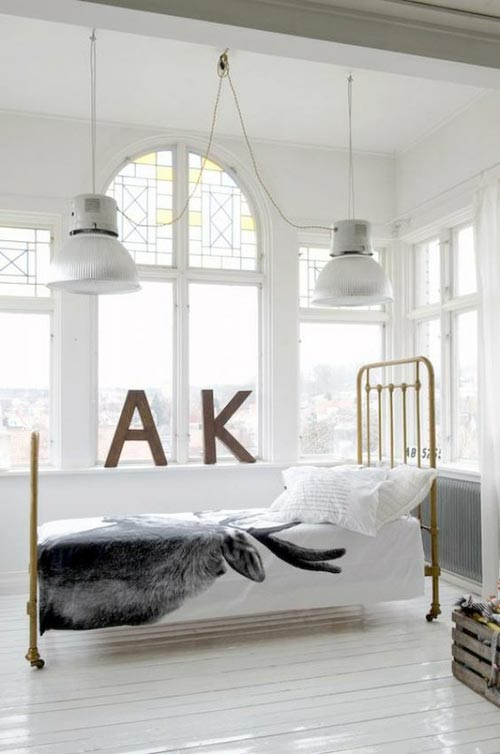 brocante slaapkamerinterieur inrichting interieur inrichting