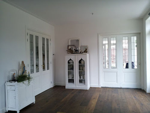 ... Ideeen Roze : Brocante woonkamer van Peggy Interieur inrichting