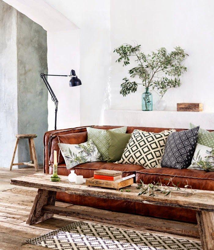 Leer in het interieur | Interieur inrichting