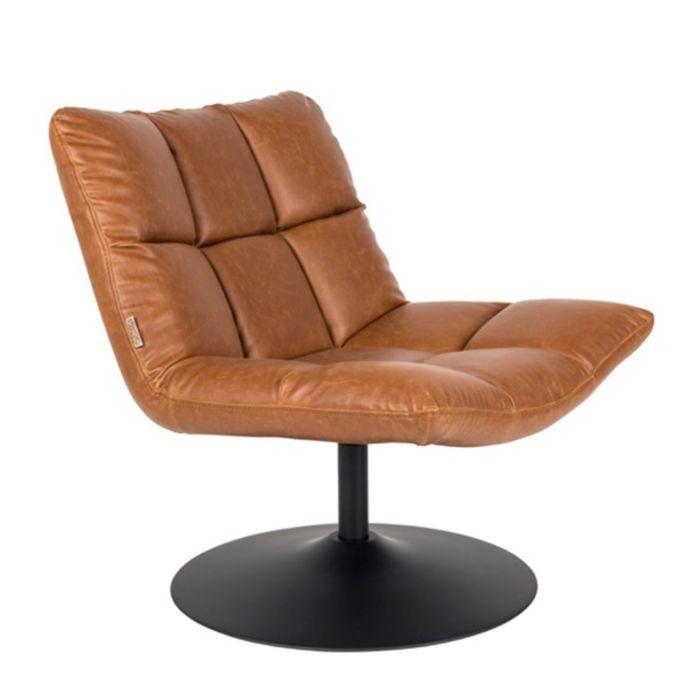 bruine-leren-fauteuil-dutchbone-bar-loungestoel