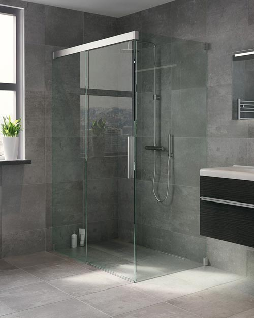 Bruynzeel badkamer idee n interieur inrichting - Moderne douche fotos ...