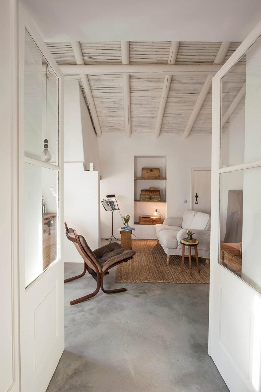 Charmante woonkamer met natuurtinten | Interieur inrichting