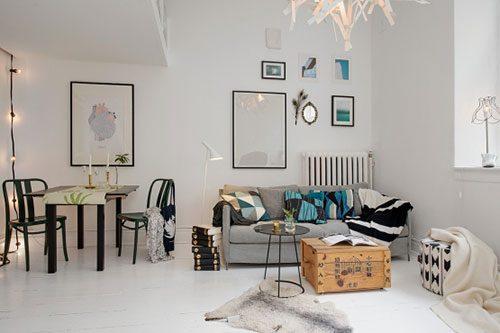 De charme van een klein appartement