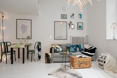 De charme van een klein appartement interieur inrichting - Een klein appartement ontwikkelen ...