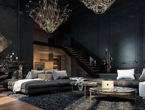 Chique appartement uit Parijs