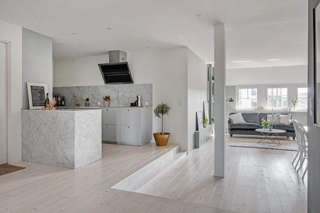 Afwerking Witte Keuken : Chique keuken met chique materialen en afwerking interieur inrichting