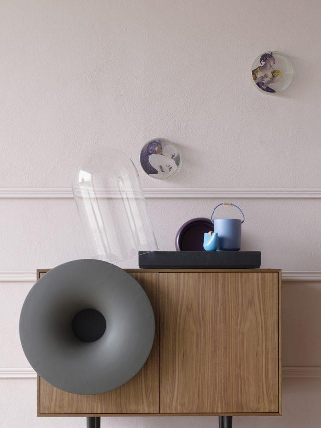 Combinatie van kast en speaker