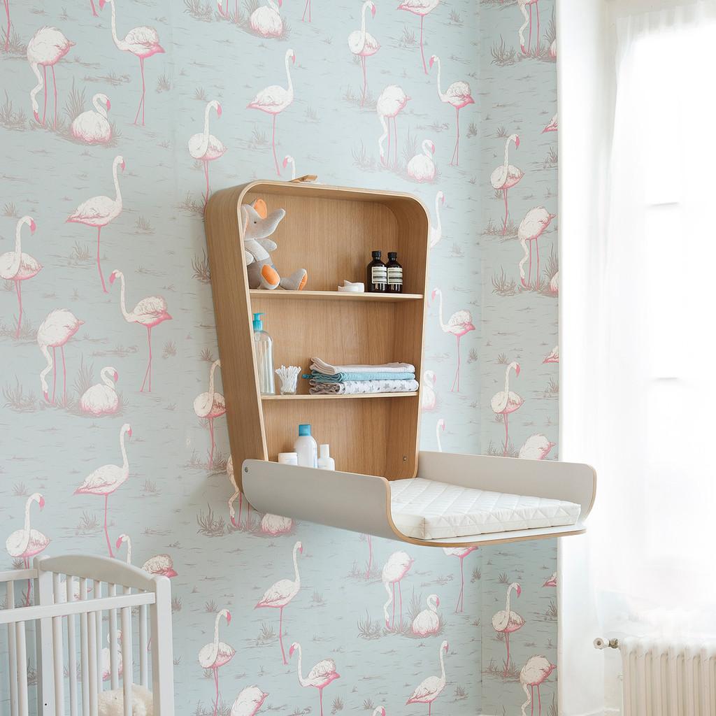 commode aan de muur interieur inrichting. Black Bedroom Furniture Sets. Home Design Ideas