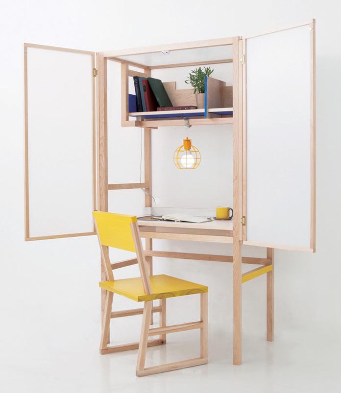 Compacte Keuken In Kast : Compacte bureau-kast combinatie Interieur inrichting