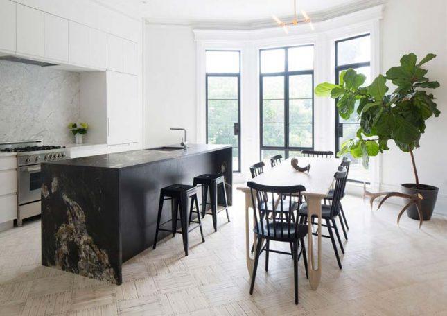 composiet keukenblad zwart