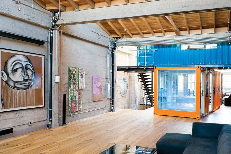 containerwoning loft