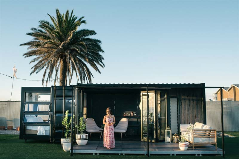 containerwoning mobiele hotelkamers