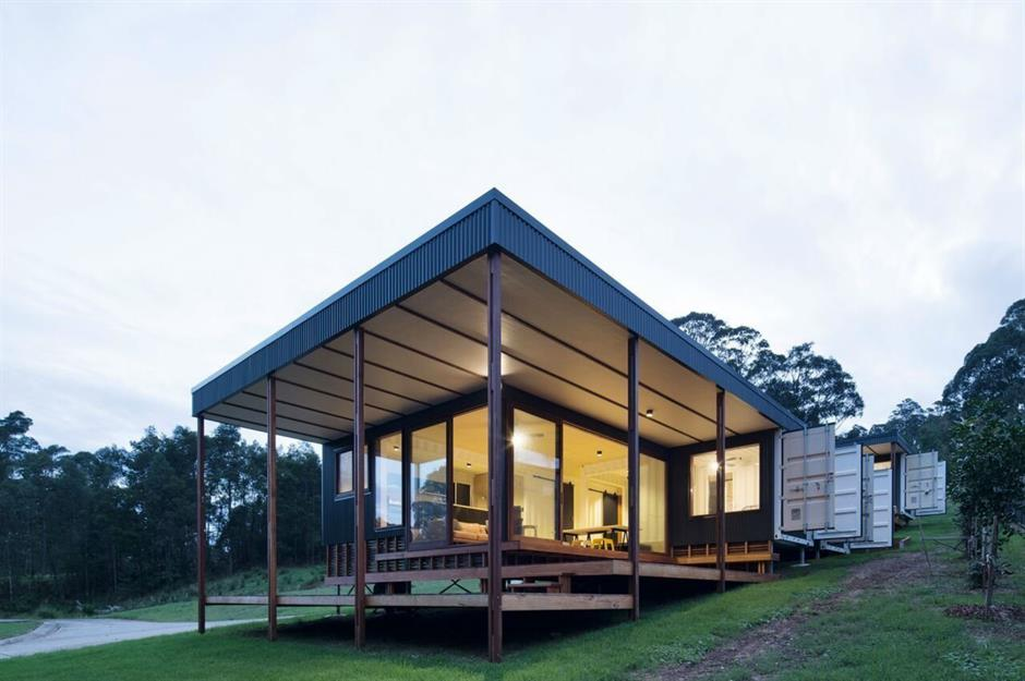 containwoning Architect Matt Elkan