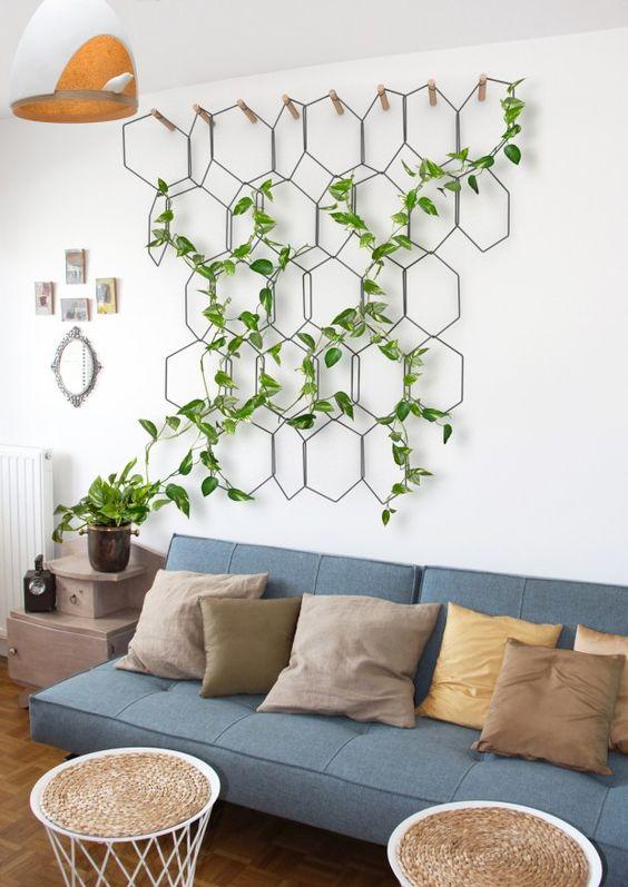 creatief-idee-planten-wand