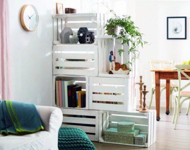 Creatieve roomdevider