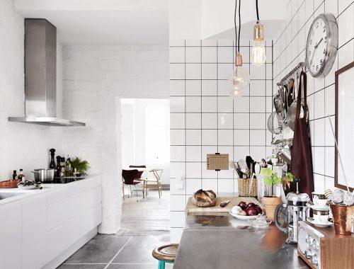 De moderne stoere keuken van Zweedse interieurstylist Isabell Andén