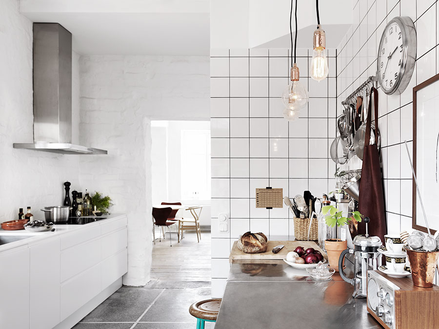 White Keuken Stoere : De moderne stoere keuken van zweedse interieurstylist isabell