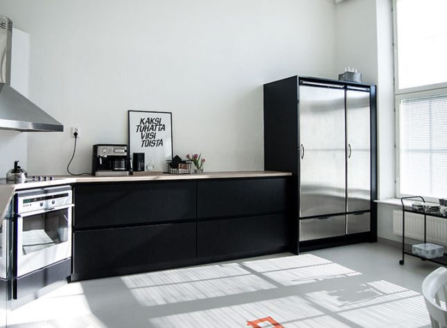 Zwart Keuken Kvik : De moderne zwarte hoekkeuken van blogger jutta k interieur inrichting