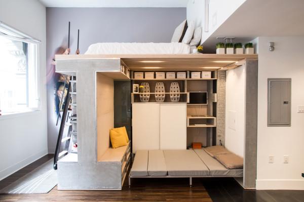 De perfecte meubel voor een klein appartement interieur inrichting - Layout klein appartement ...