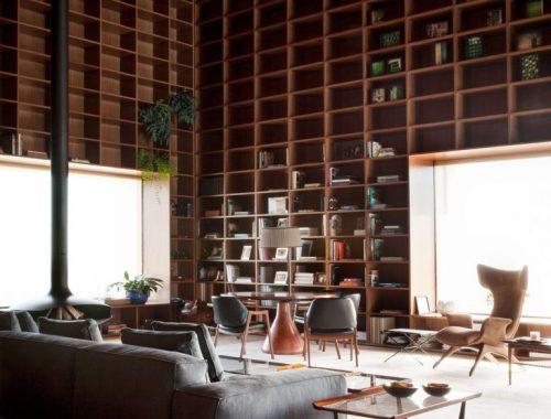 Ultieme bibliotheek woonkamer