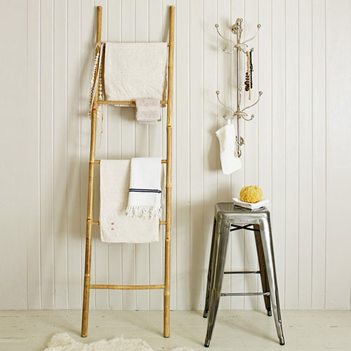 10x decoratie ladder interieur inrichting - Ikea echelle salle de bain ...