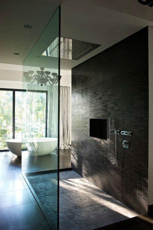 Design badkamers interieur inrichting for Badkamer design italiaanse douche