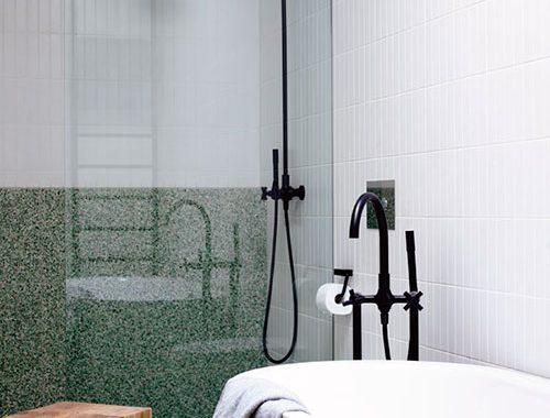 Design badkamer van Justin en Jeanne