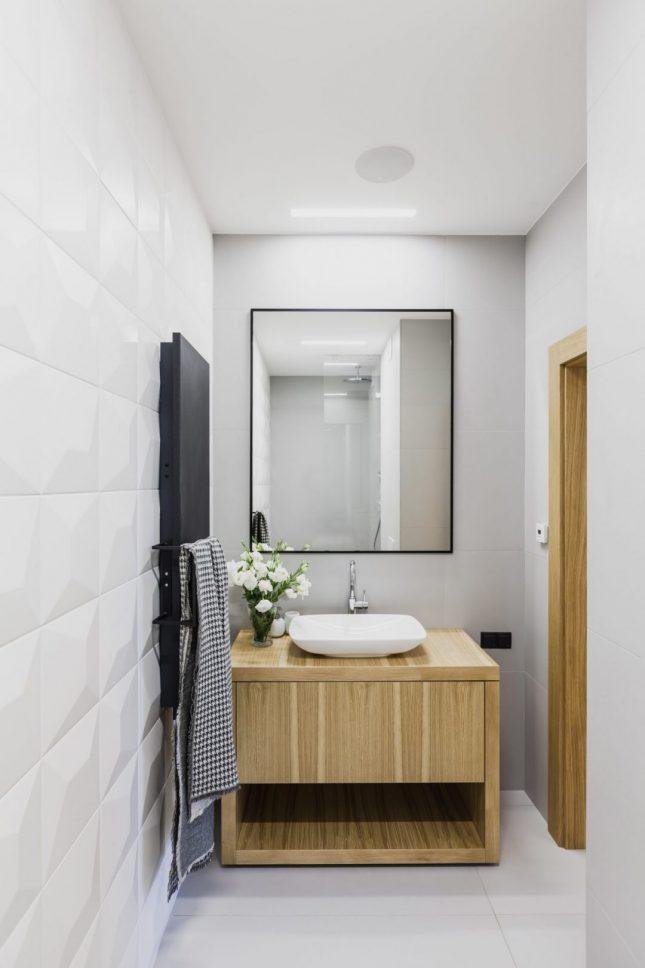 Design badkamers voorbeelden diamant tegels