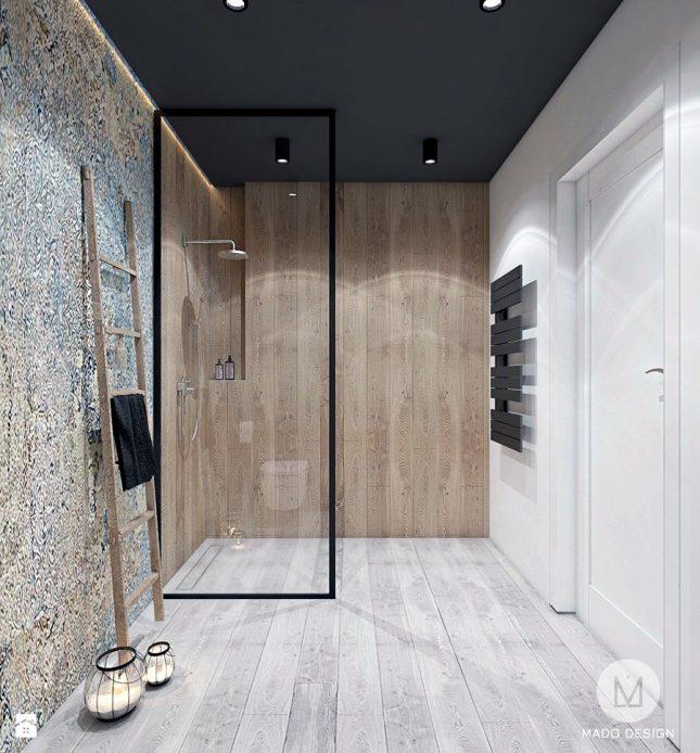 Design badkamers voorbeelden hout