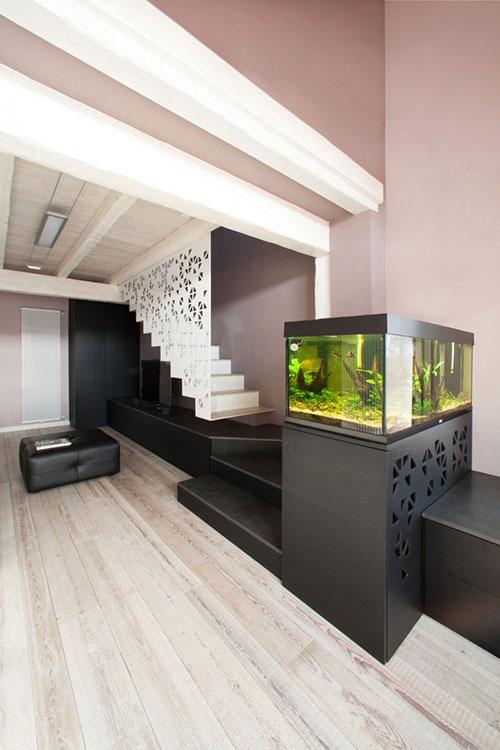 Designtrap op tv meubel