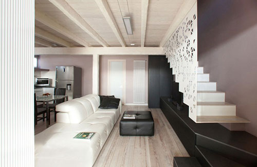 Designtrap op tv meubel interieur inrichting