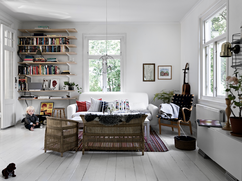 Deze mooie woonkamer krijgt vanuit alle kanten licht! | Interieur ...