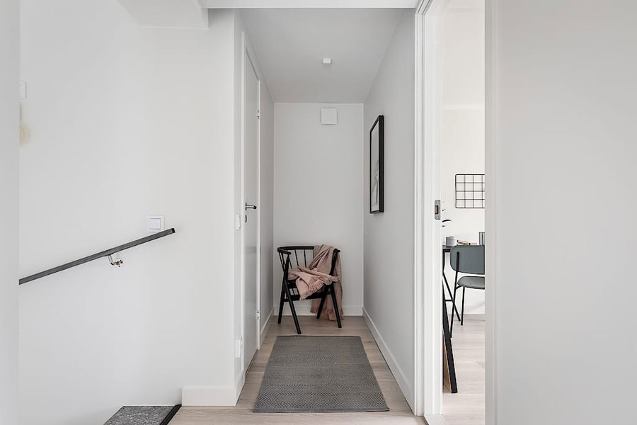 Deze trap is bekleed met stoere betonlook granito trapbekleding!