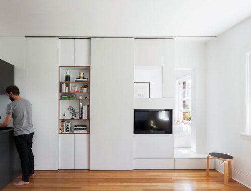 Dit kleine appartement van 27m2 is super slim ingericht interieur inrichting - Herman miller frankrijk ...