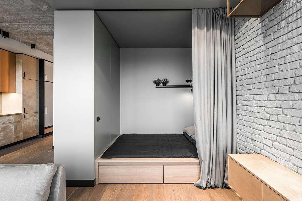 Dit stoere kleine loft appartement is perfect ingericht!