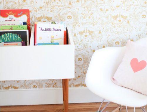 DIY boekenbak voor de kinderkamer