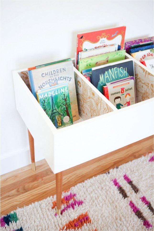 DIY boekenbak voor de kinderkamer | Interieur inrichting