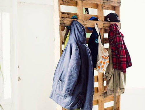 DIY garderobe kapstok in de hal