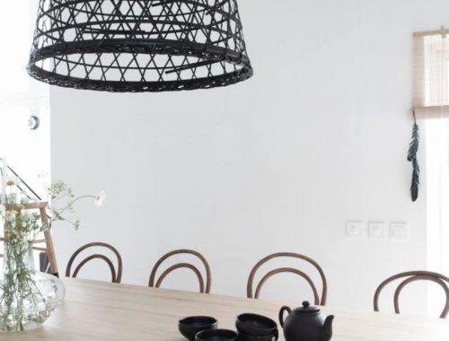 DIY Hanglamp mand