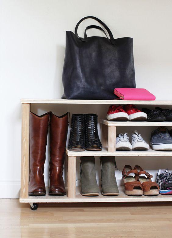 DIY schoenenrek
