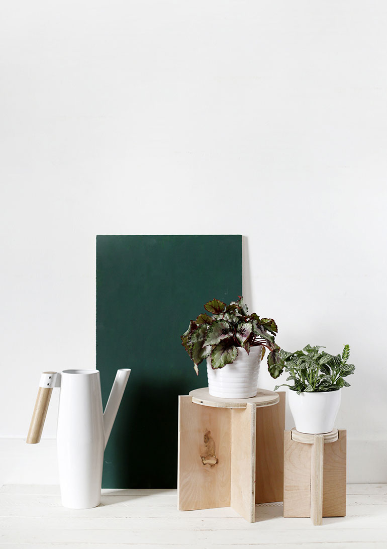 DIY underlayment plantenstandaard