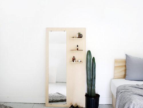 DIY underlayment spiegel