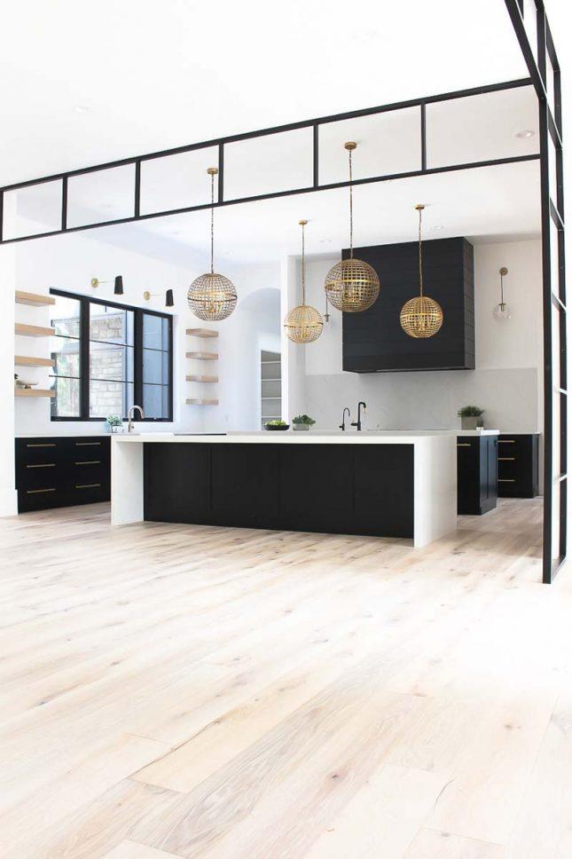 donkere keuken elegante zwarte keuken shauna