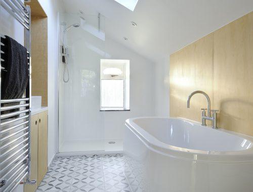 Droombadkamer van architecten duo