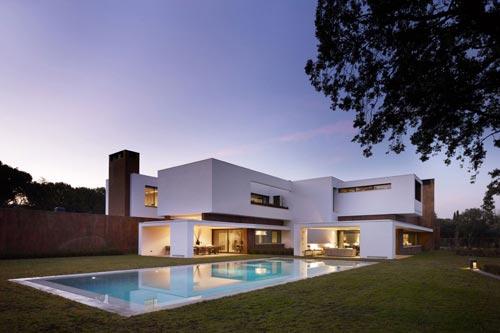 Droomhuis interieur inrichting for Las mejores casas minimalistas del mundo