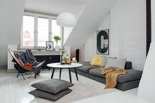 Dubbele zolderappartement met charme