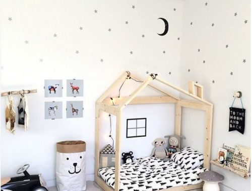 Klimmuur in kinderkamer | Interieur inrichting