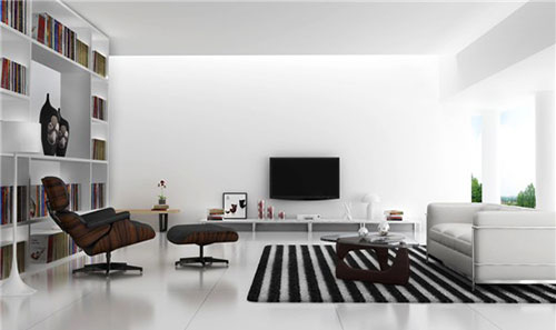 Eames Lounge Chair Interieur Inrichting