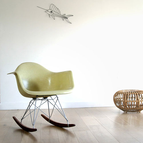 eames schommelstoel | interieur inrichting, Deco ideeën